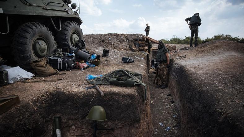 Rosyjski atak na Służbę Graniczną Ukrainy