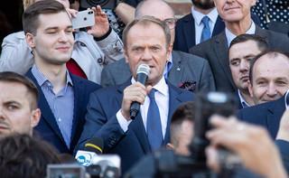 Tusk o słowach Morawieckiego: Haratanie w gałę to zajęcie dla dżentelmenów