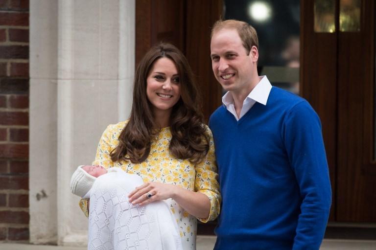 Narodziny księżniczki Charlotte (Karoliny)