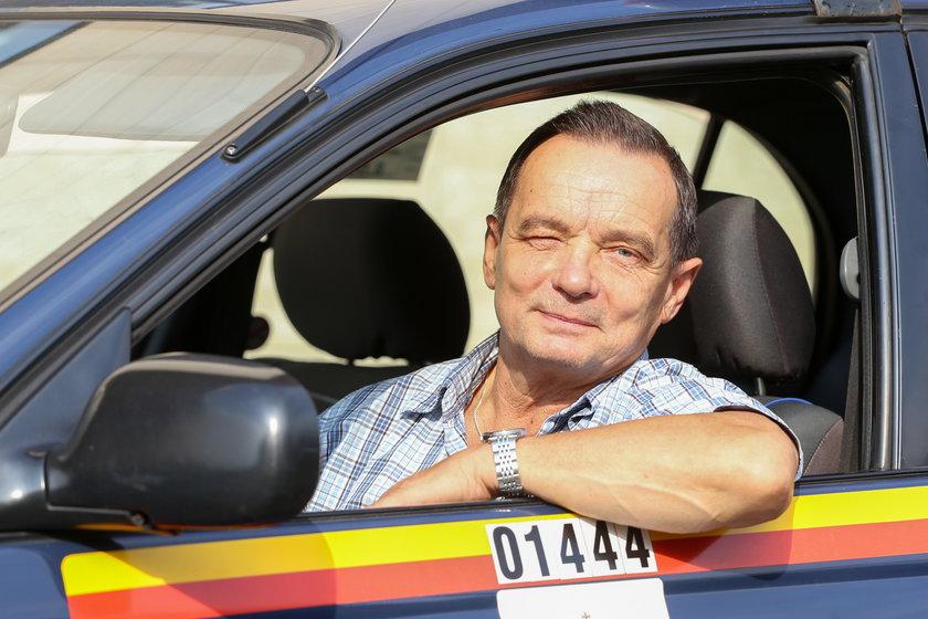Wiesław Orzelski (62 l.) kierowca z Gocławia