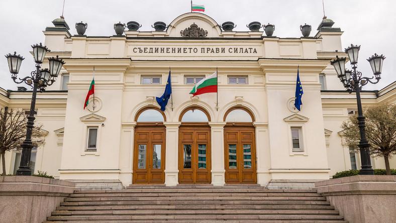 Siedziba bułgarskiego parlamentu