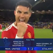 LJUDI TEK SAD PRIMETILI Kristijano Ronaldo se šepurio u kameru, nije ni slutio ko juri ka njemu i šta će se desiti za par sekundi