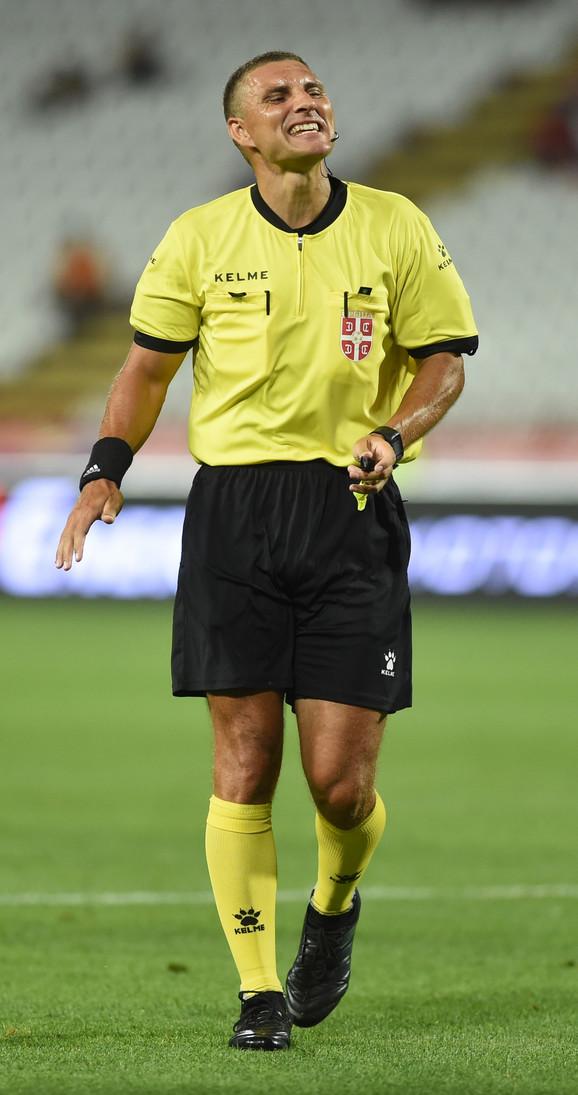Fudbalski sudija Lazar Lukić po prvi put će deliti pravdu na večitom derbiju