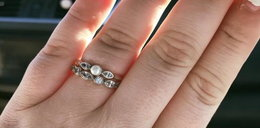 Usłyszała, że jej pierścionek zaręczynowy jest żałosny. Odpowiedź zaskakuje