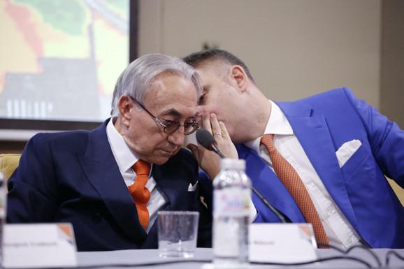 Miroslav Mišković u razgovoru sa Živoradom Vasićem