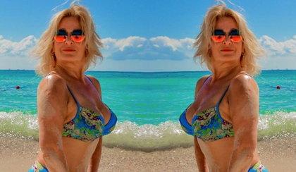 Pamiętacie Majkę Jeżowską? Zachwyciła w bikini!