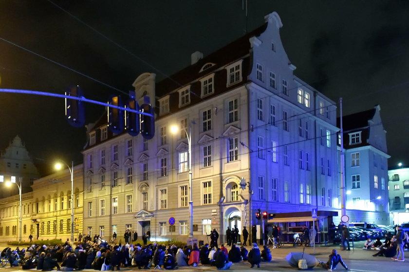 Pogrzeb Praw Kobiet w Gdansku