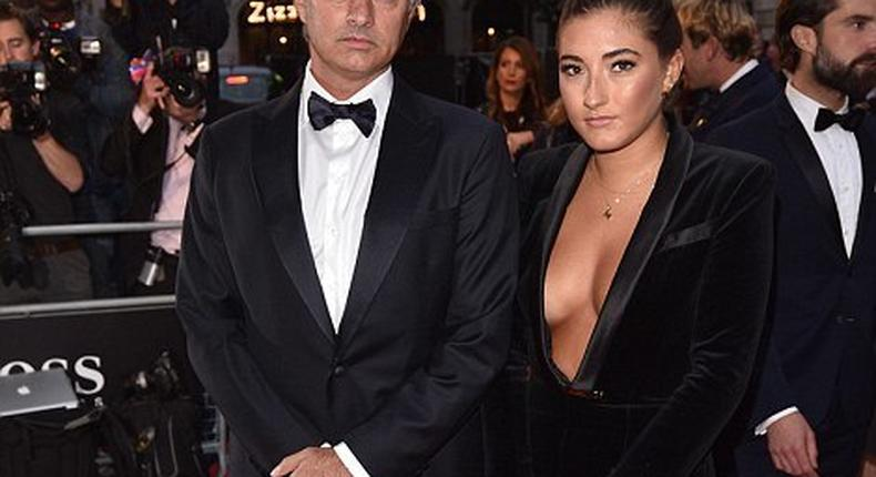 Jose and Matilda Mourinho