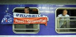 Awaria pociągu z posłami PiS