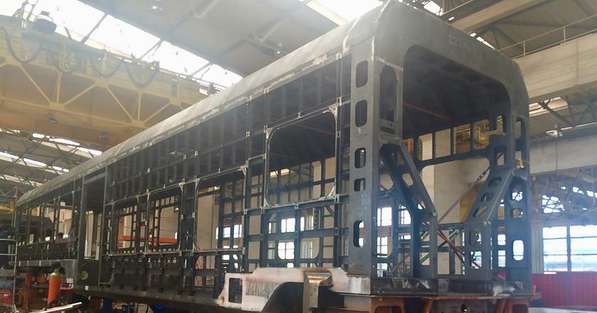 Wizyta w fabryce Newag w Nowym Sączu na linii produkcyjnej EZT Impuls 45WE