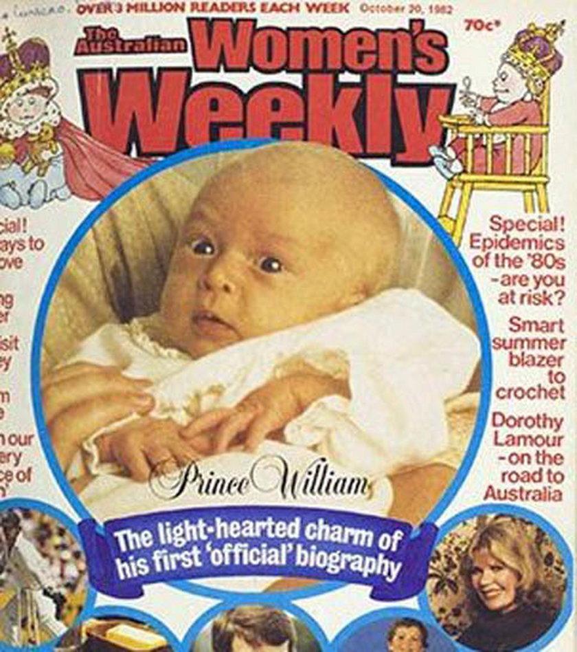 """Okładka """"Women's Weekly"""" z księciem Williamem"""