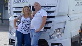 Małżeństwo truckersów: love story w ciężarówce