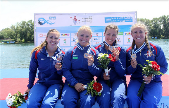 Kristina Bedeč, Olivera Moldovan, Milica Starović i Nikolina Moldovan