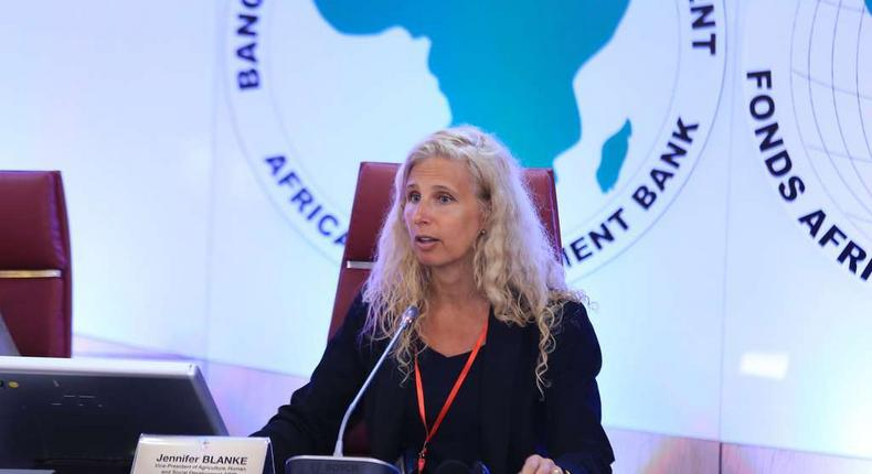 Jennifer Blanke, Vice-President, Agriculture, Human and Social Development at the African Development Bank (AfDB)
