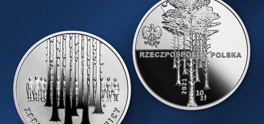 """""""Zbrodnia w Piaśnicy"""" - nowa moneta kolekcjonerska. NBP upamiętniło ofiary masowego mordu na Pomorzu"""