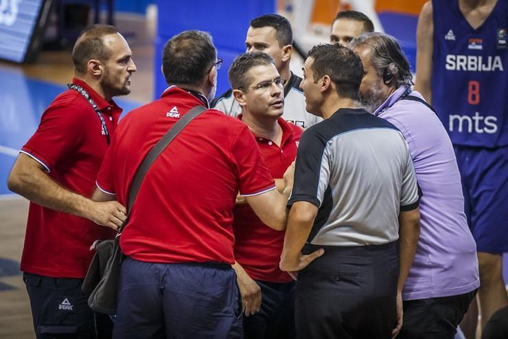 Srbija - Španija u16