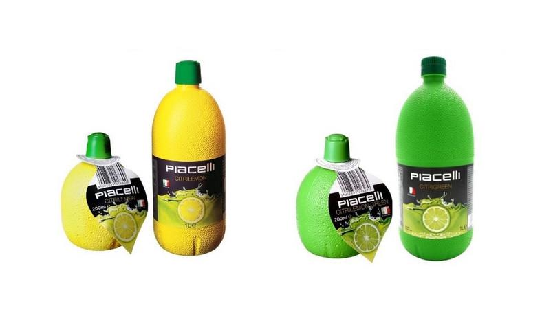 Główny Inspektorat Sanitarny wydał ostrzeżenie dotyczące wycofania koncentratów soku z cytryny i limonki marki Piacelli (źródło: gis.gov.pl)
