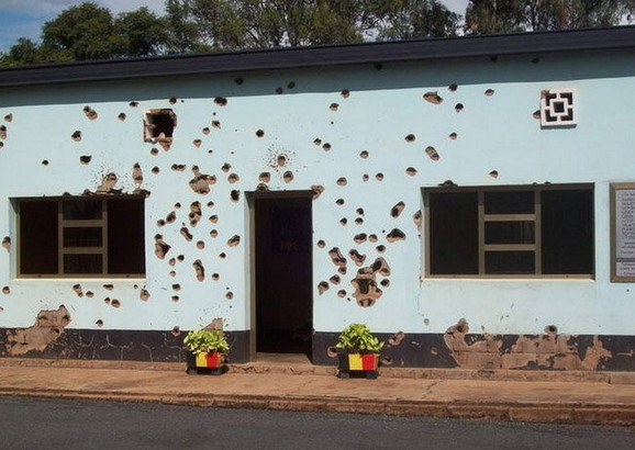 A ovde su život izgubile žrtve genocida u Ruandi