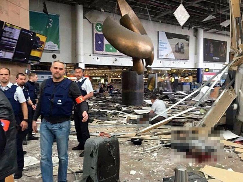 Świadka zamachów w Brukseli: wszędzie leżały kawałki ciał