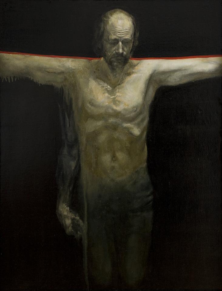 Leszek Sobocki, Ukrzyżowanie (Miejsce w Europie), 1980-81, fot. MNK