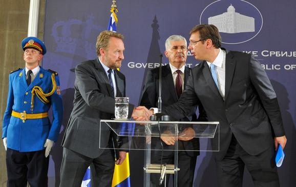 Bakir Izetbegović i Aleksandar Vučić