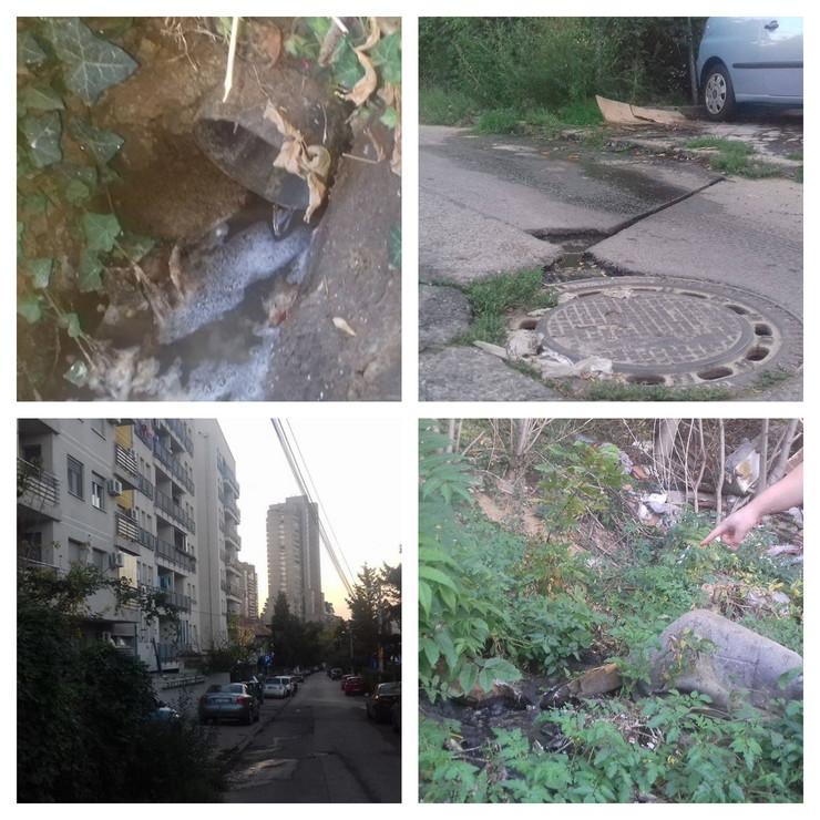Kanalizacija, Kostolačka, Gostivarska