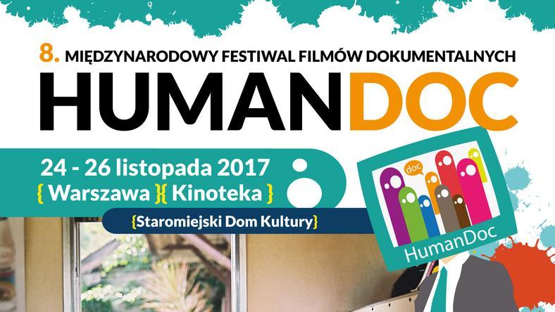 Festiwal HumanDOC 2017 - plakat
