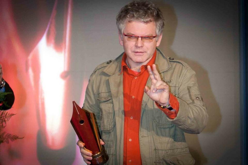 """Artur Domosławski """"Kapuściński non fiction"""", Świat Książki 2010"""