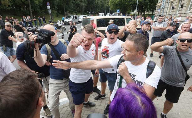 Zajścia na Marszu Równości w Białymstoku