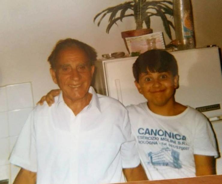 Deda Katarine Despotović sa njenim bratom