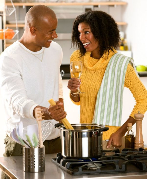 Stay at Home Date Ideas for Couples: Cook Up A Storm | Image source: Shutterstock
