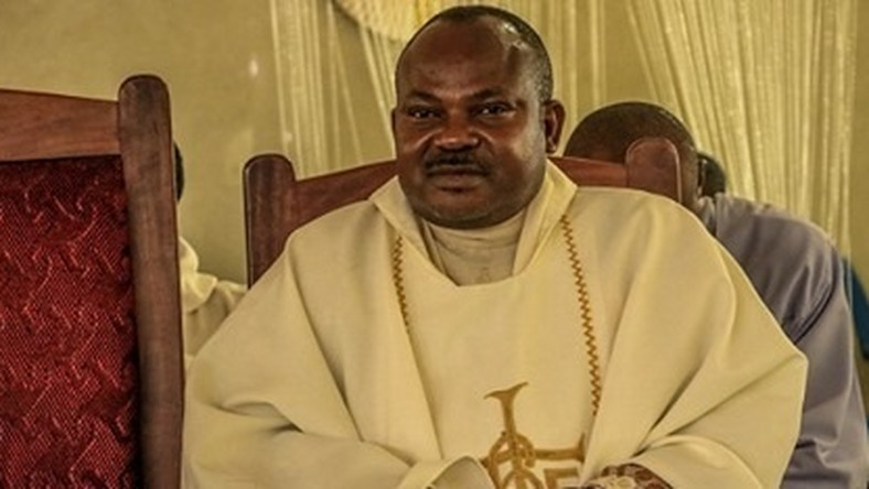Image result for We are yet to arrest killers of Catholic Priest Paul Offu - Police