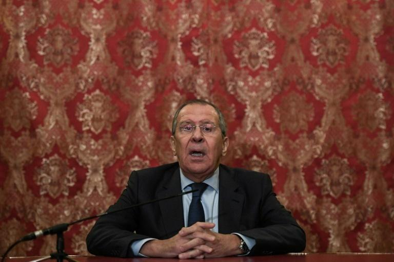 """""""Sovereignty over the islands is not up for discussion,"""" said Russian Foreign Minister Sergei Lavrov after his meeting with his Japanese counterpart in Moscow"""