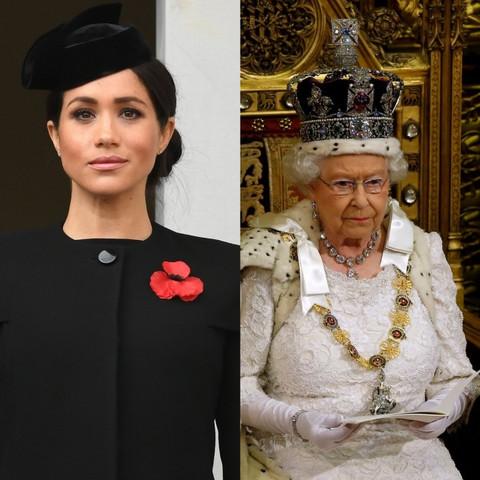 VOJVOTKINJA VEĆ TRENIRA STROGOĆU: Kraljica Elizabeta bi zbog ovoga mogla da ZAMRZI Megan Markl!