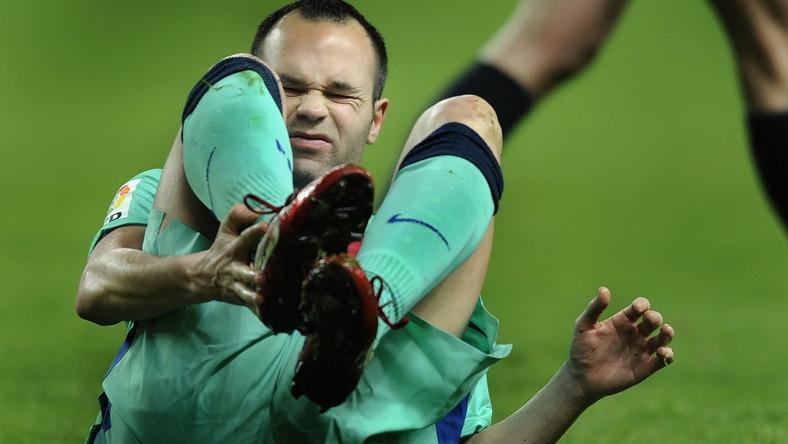 Iniesta może nie zagrać z Realem