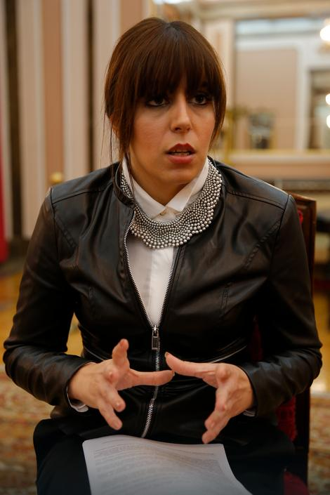 Andrea Radulović, zamenica predsednika Skupštine grada