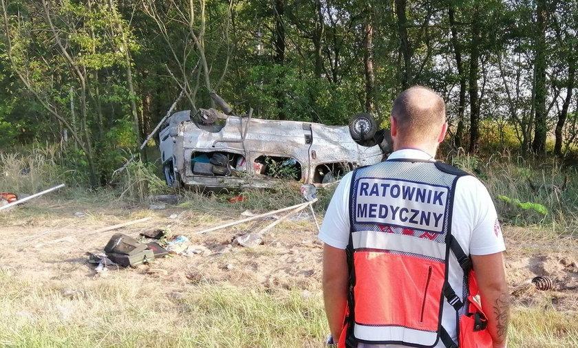 Tragiczny wypadek na A4. Pięć ofiar śmiertelnych