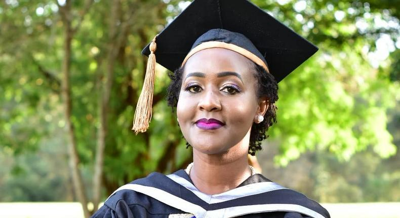 Ex-KTN reporter Carol Nderi over the moon as she graduates with her second degree