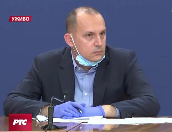 Zlatibor Lončar, ministar zdravlja