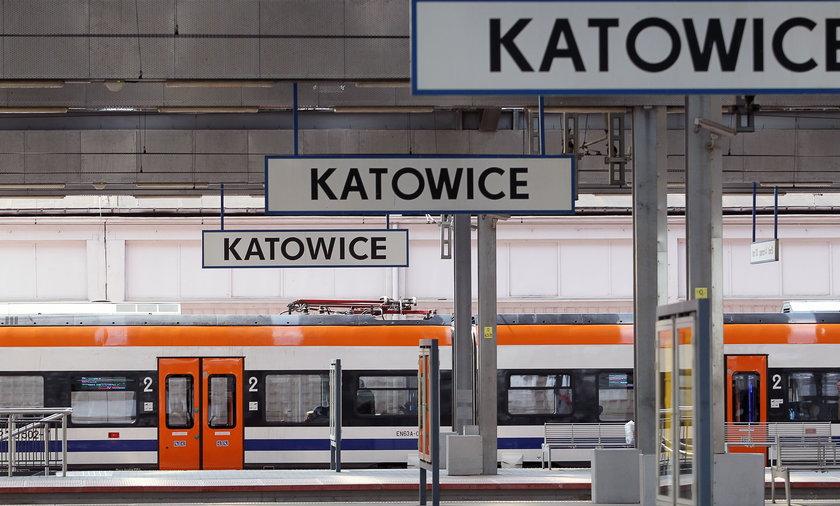 Ostrzelano pociąg pomiędzy stacjami Katowice-Załęże a Katowicami. Zdjęcie ilustracyjne.