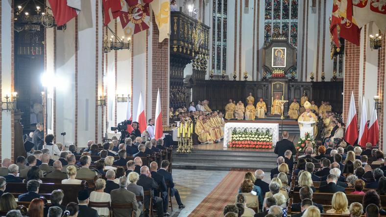 Msza inauguracyjna w archikatedrze św. Jana Chrzciciela