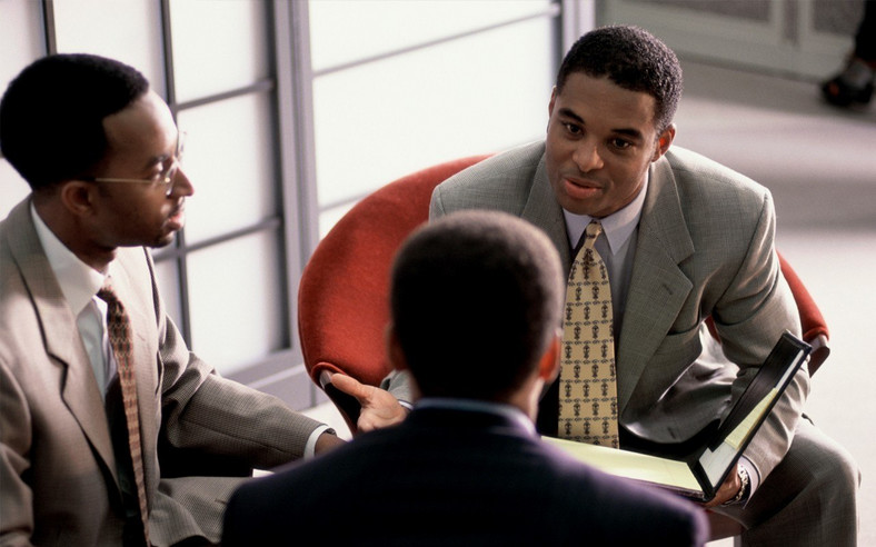 Don't just respond to job interview questions, think about it before you say anything.