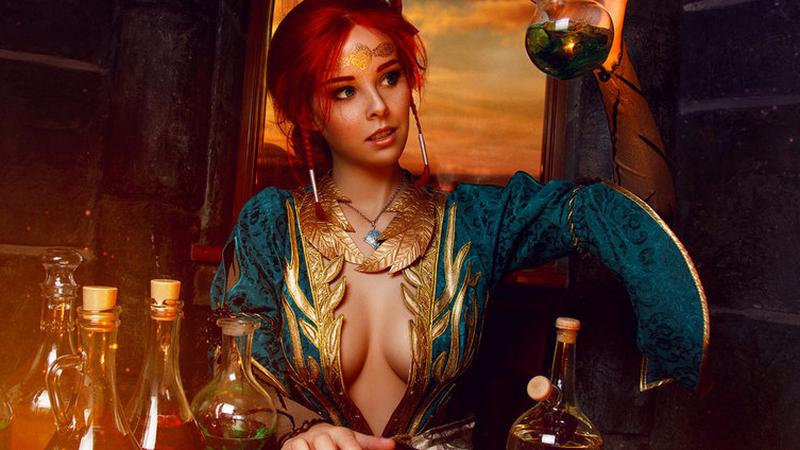 Helly von Valentine - piękna Rosjanka jako Triss Merigold