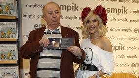 Doda na promocji płyty Bohdana Łazuki