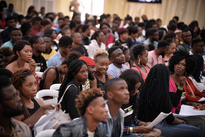 Thousands of talents attended the MTV Shuga Naija auditions in Lagos [BHM]