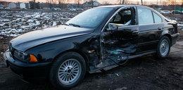 Limuzyna SOP rozbita pod Warszawą. Dwoje dzieci w szpitalu