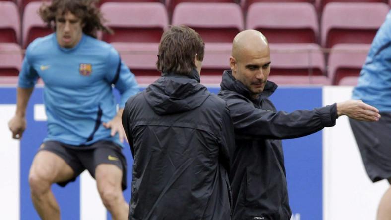 Stary i nowy trener Barcelony