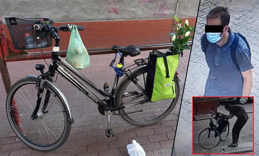Kradzież roweru na Ochocie.