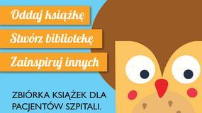 """III edycja Wielkiej Zbiórki Książek """"Zaczytani"""""""