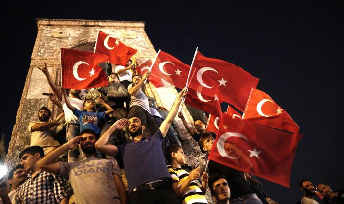 Attempted coup detat in Turkey